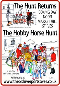 The Boxing Day Hobby Horse Hunt @ Market Hill, Old Riverport, St Ives